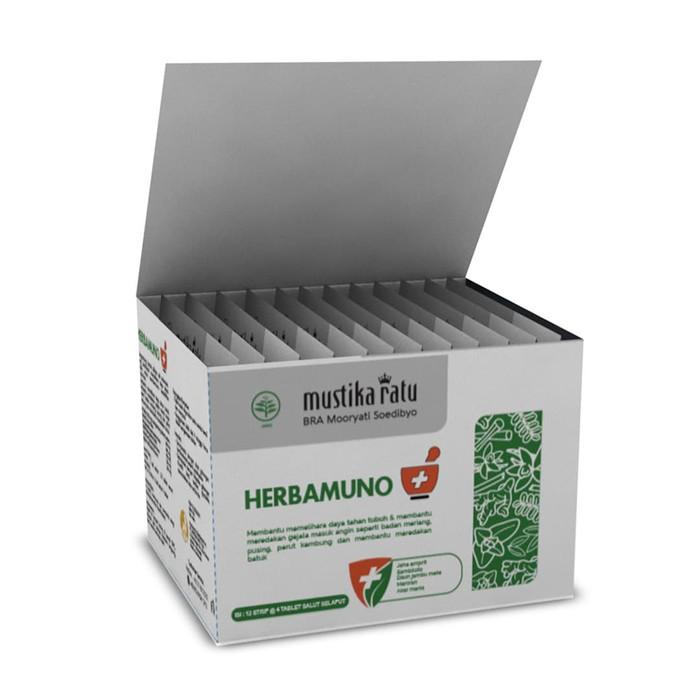 Mustika Ratu Herbamuno+ Immune Modulator imun kuat