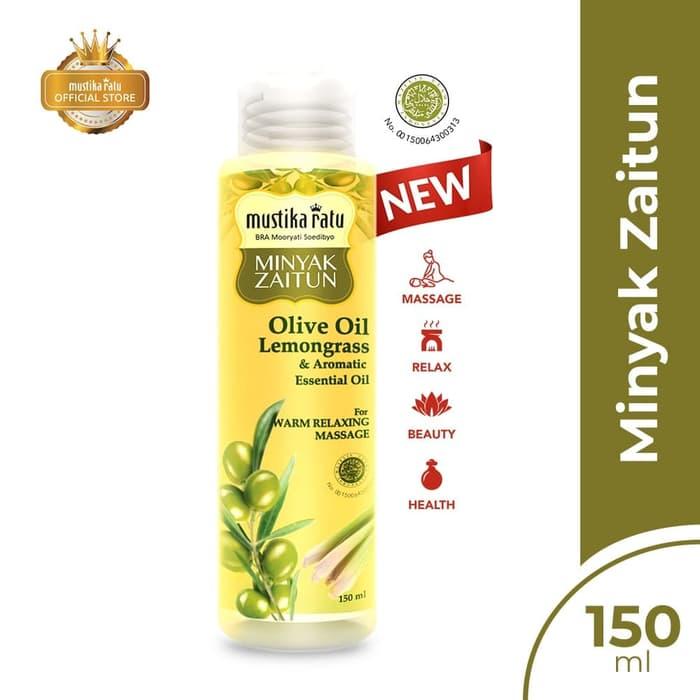 Mustika Ratu Minyak Zaitun Lemongrass & Aromatic Essential Oil